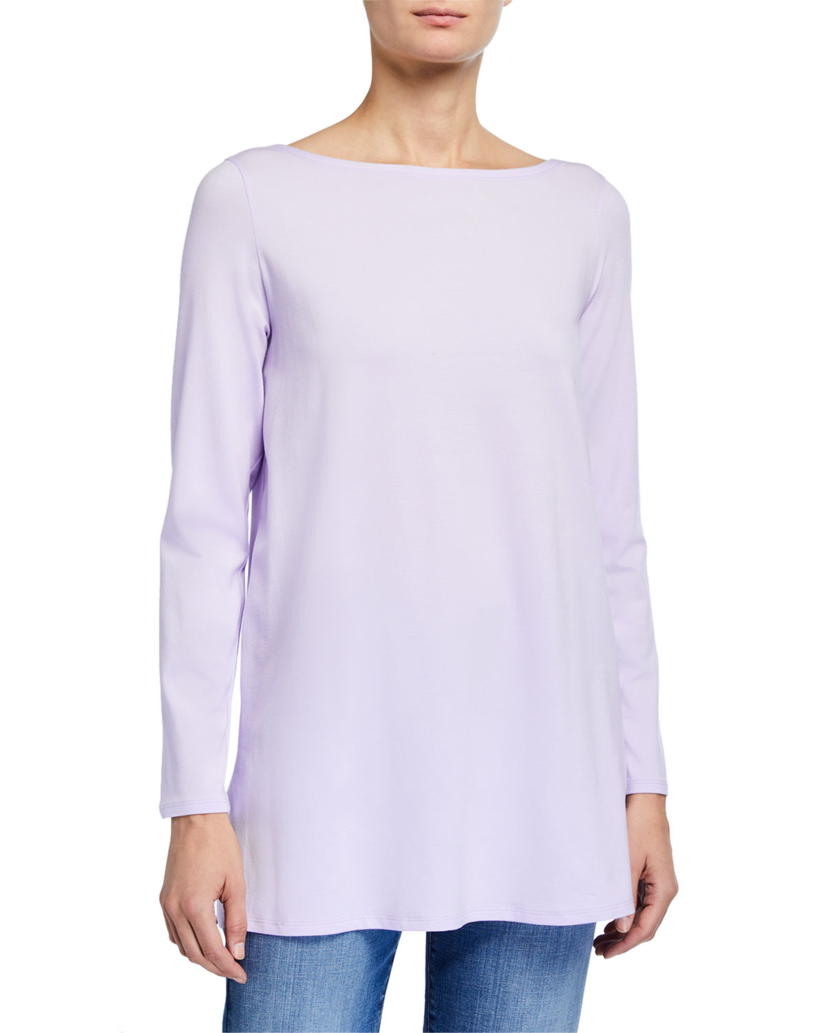 Eileen Fisher Tops LONG-SLEEVE JERSEY TUNIC