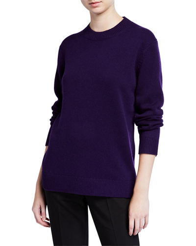 Solid Crew Cashmere Sweater