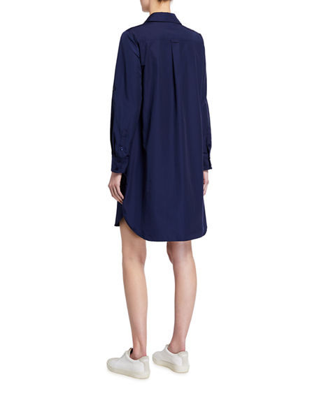 Image 2 of 2: Finley Alex Long-Sleeve Shirtdress