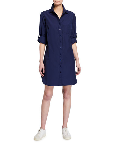 Image 1 of 2: Finley Alex Long-Sleeve Shirtdress