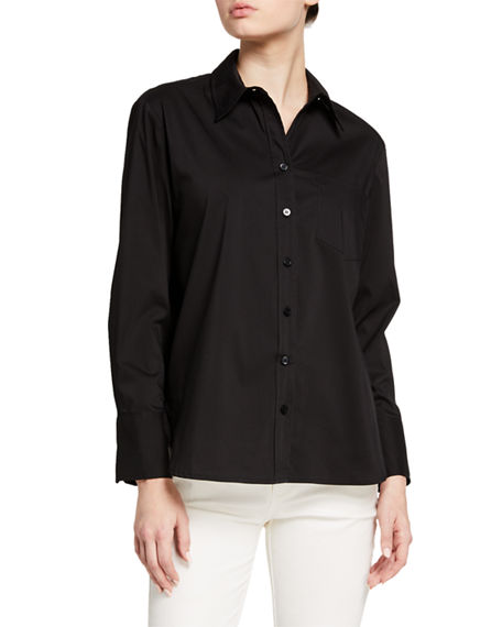 Finley Alicia Solid Button-Down Shirt