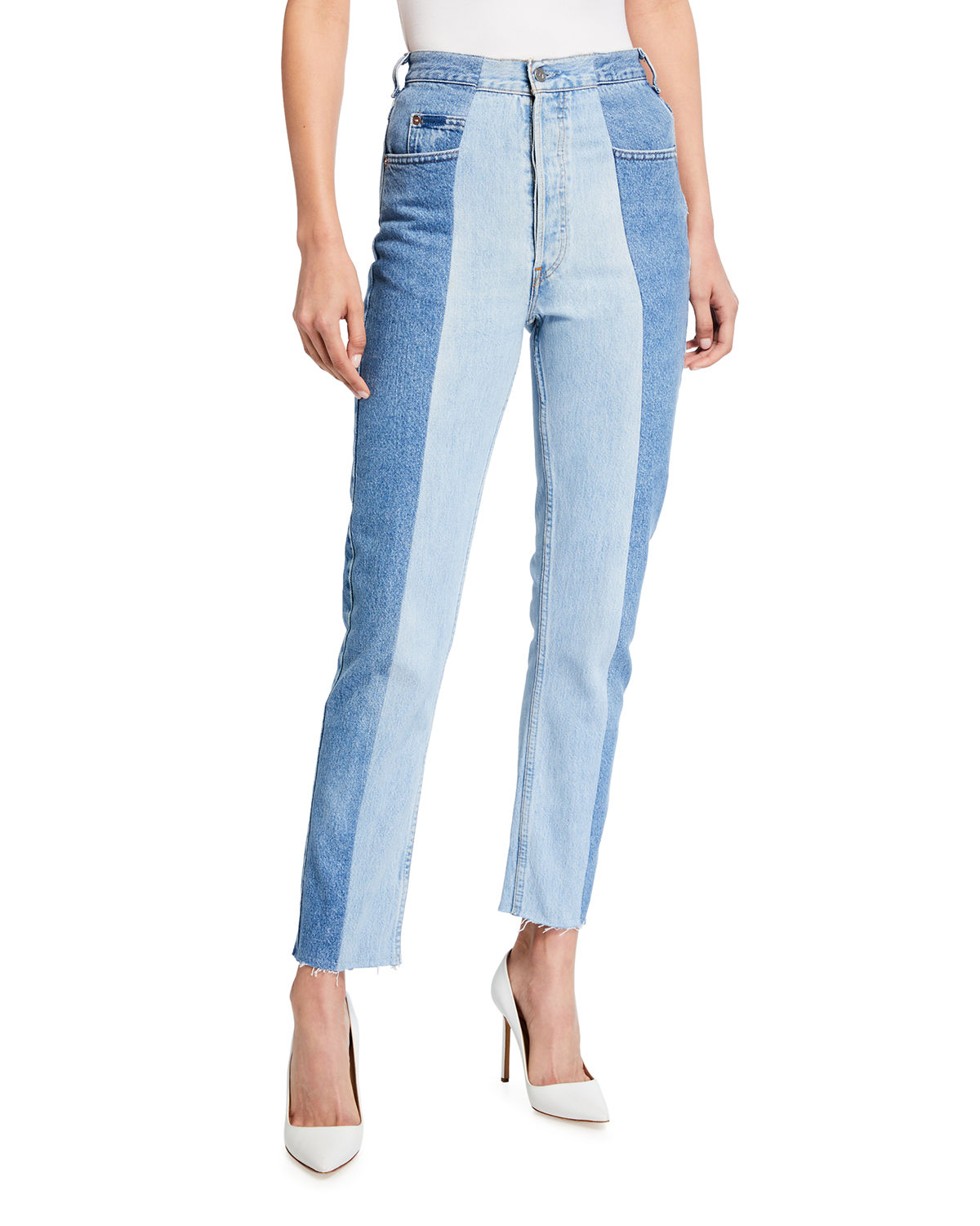 The Flare Kick Crop Jeans