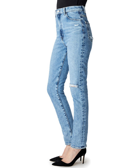 Image 3 of 5: J Brand 1212 Runway High-Rise Slim Jeans
