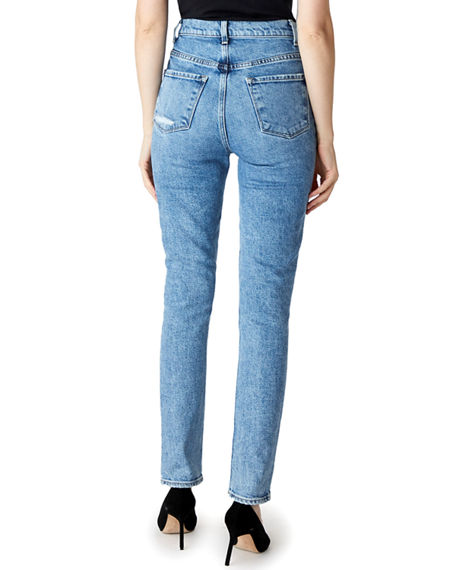 Image 4 of 5: J Brand 1212 Runway High-Rise Slim Jeans