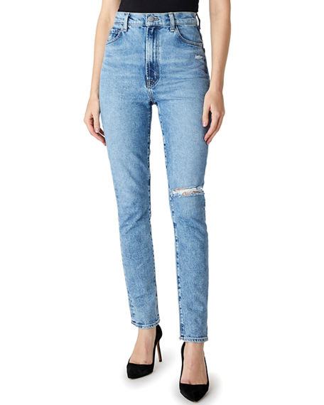 Image 1 of 5: J Brand 1212 Runway High-Rise Slim Jeans