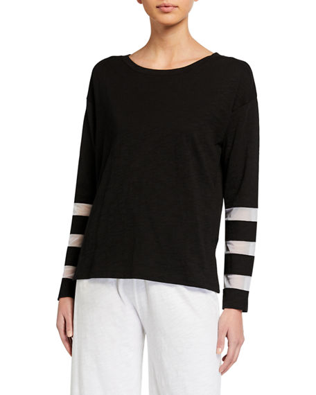 Lisa Todd Mesh Fest Long-Sleeve Tee