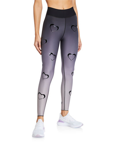 All Over Shirts Wavy Lines Leggings