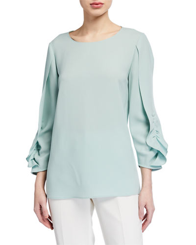 Perrin Finesse Crepe Blouse