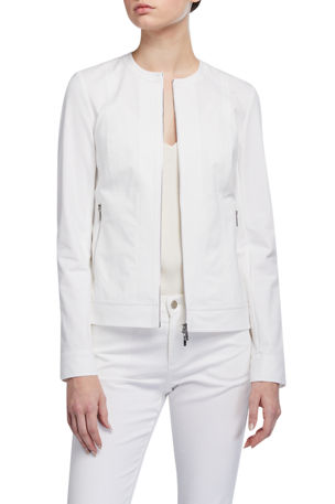 Lafayette 148 New York Kyle Fundamental Bi-Stretch Jacket