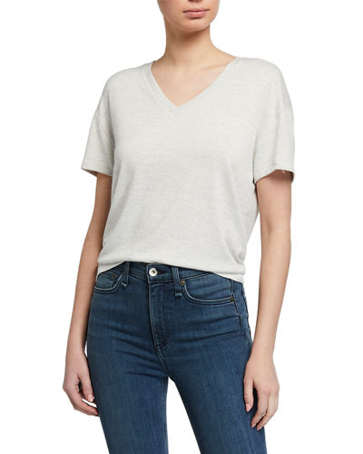Rag & Bone The Knit V-Neck Tee