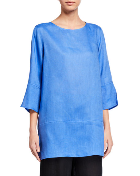 Caroline Rose Tissue Linen Panel Tunic