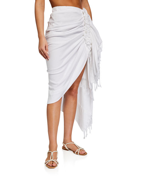 Just Bee Queen Tulum Ruched Coverup