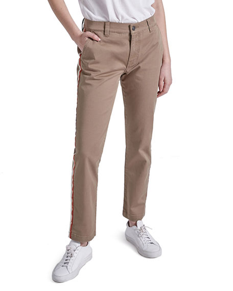 Image 2 of 4: Current/Elliott The Side Stripe Confidant Chino Pants