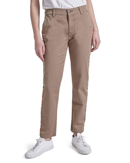 Image 4 of 4: Current/Elliott The Side Stripe Confidant Chino Pants