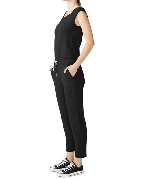 Monrow Supersoft Jumpsuit with Patch Pockets
