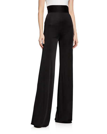 Alexis Camilo High-Rise Wide-Leg Pants