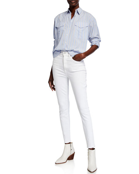 Image 3 of 3: 7 for all mankind High-Rise Skinny Ankle Jeans