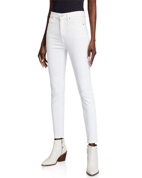 Image 1 of 3: 7 for all mankind High-Rise Skinny Ankle Jeans