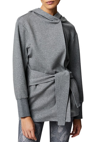 Varley Cove Wrap Hooded Sweatshirt Jacket