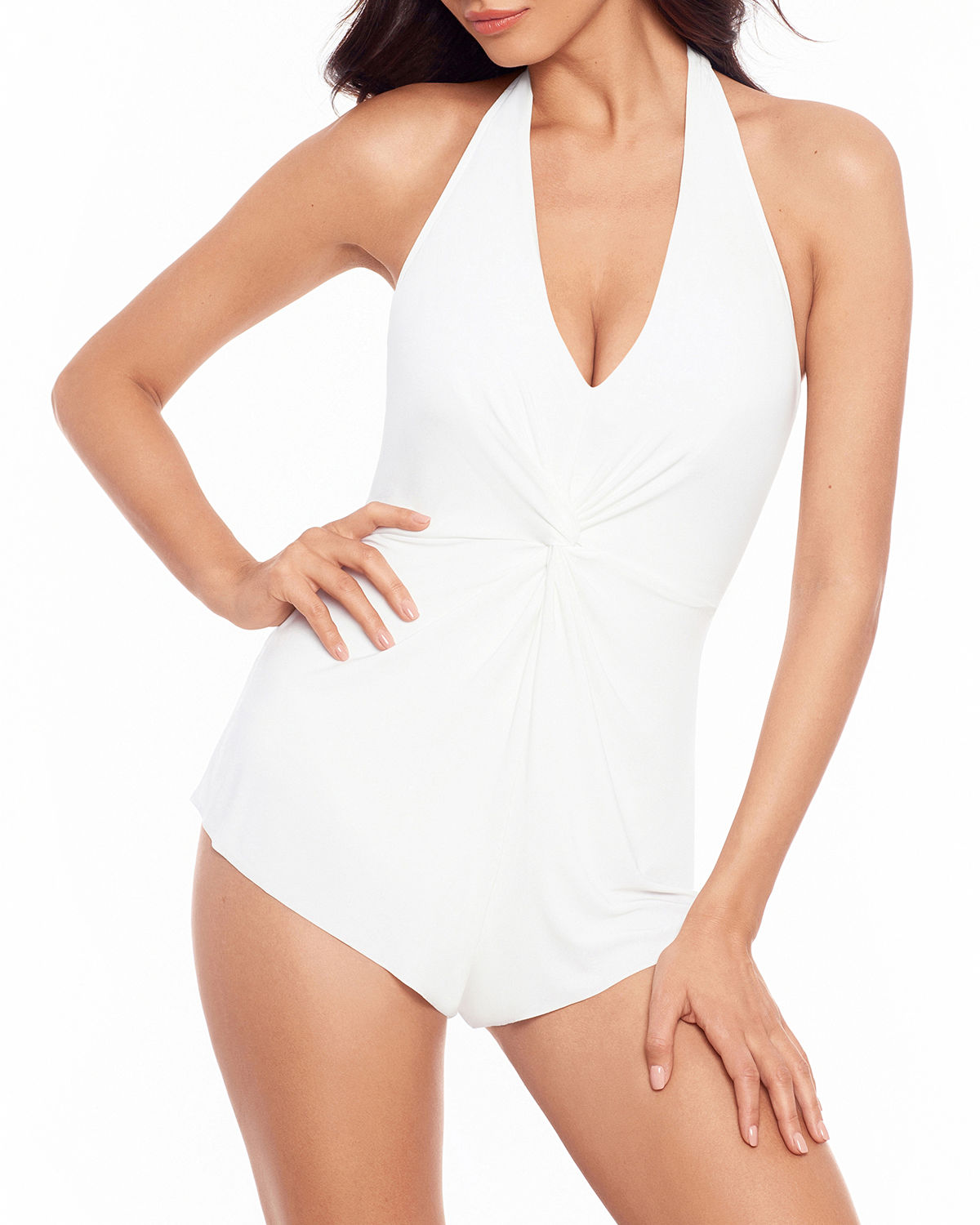 Theresa Solid One-Piece Swimsuit