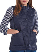 Barbour Lola Quilted Snap-Front Gilet
