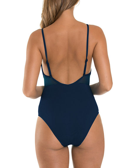 Image 2 of 2: JETS by Jessika Allen Aspire Infinity One-Piece Swimsuit