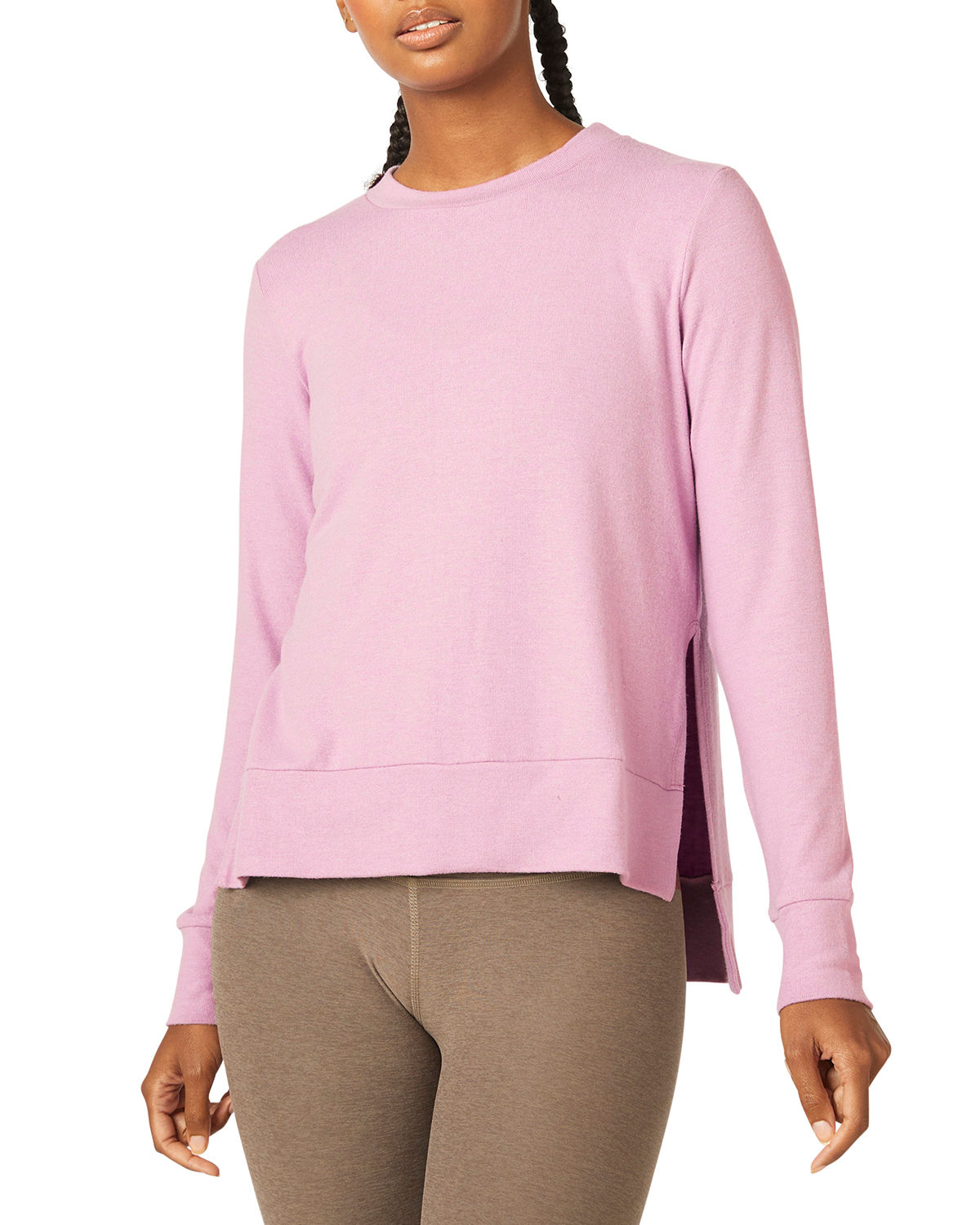 Beyond Yoga Clothing JUST CHILLIN LONG-SLEEVE PULLOVER