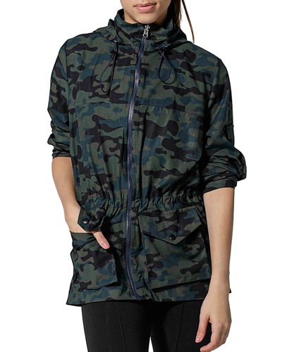 Out Of Town Camo-Print Jacket
