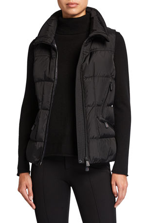 Moncler Grenoble Quilted Down Filled Vest
