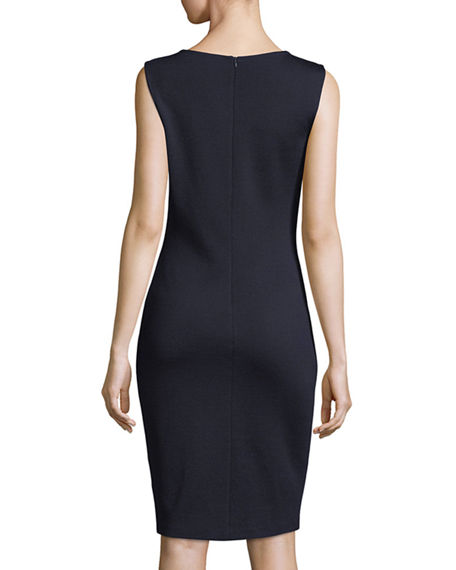 Image 2 of 4: St. John Collection Sleeveless Mid-Length Dress