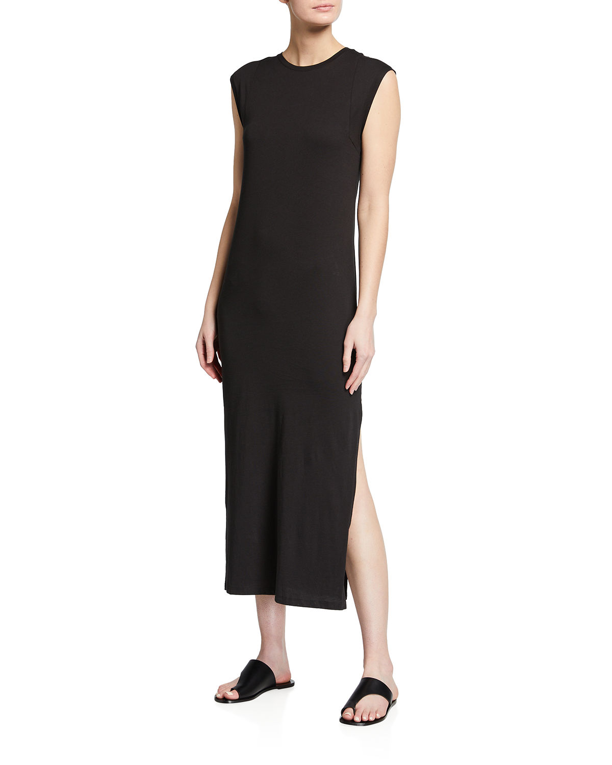 Frame Cottons LE MUSCLE SLEEVELESS MAXI DRESS