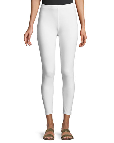 Image 1 of 3: Joan Vass Plus Size Ankle Length Pull-On Leggings