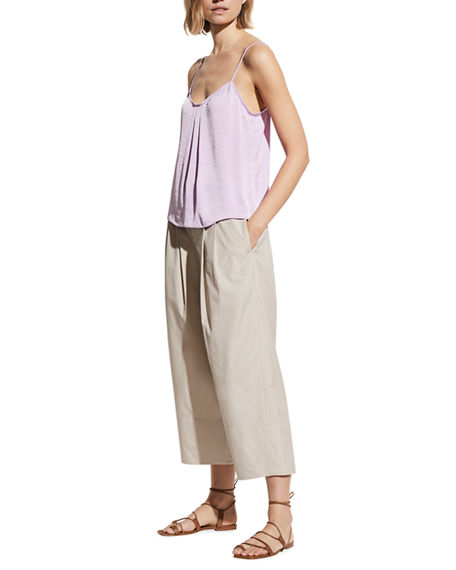 Vince Pleated-Front Camisole