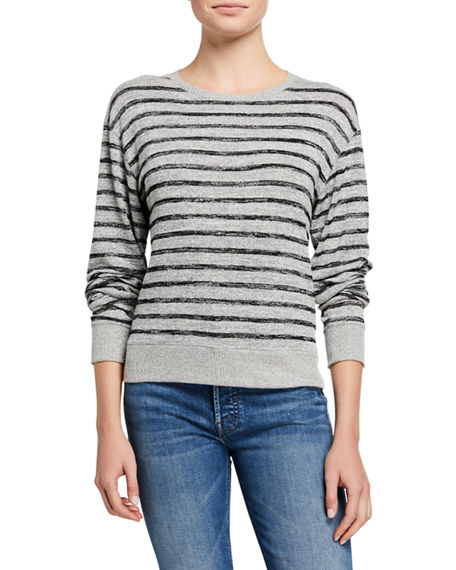 Rag & Bone Avryl Striped Crewneck Sweater