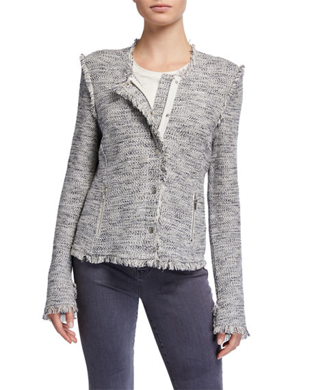 Image 2 of 4: NIC+ZOE Petite You Deserve It Fringe Detail Jacket