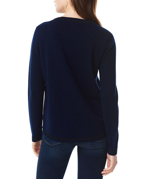 Image 3 of 4: Lisa Todd Plus Size Beau & Arrow Curved-Hem Sweater