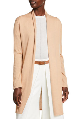 Neiman Marcus Cashmere Collection Superfine Cashmere Duster
