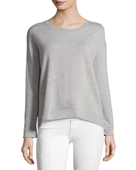 Majestic Filatures Soft-Touch French Terry Sweatshirt