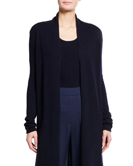 Neiman Marcus Cashmere Collection Cashmere Duster Cardigan