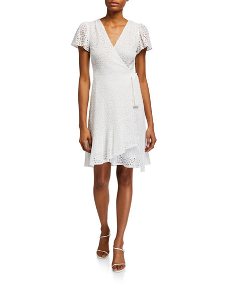 MICHAEL Michael Kors Lace Wrap Dress