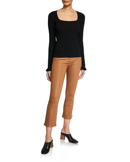 Image 3 of 3: 7 for all mankind High-Waist Slim Kick Flare Jeans