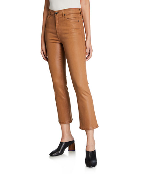 Image 1 of 3: 7 for all mankind High-Waist Slim Kick Flare Jeans