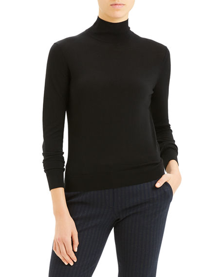 Theory Regal Wool Turtleneck Sweater