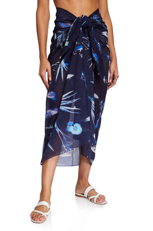 on the Island Sarong Coverup