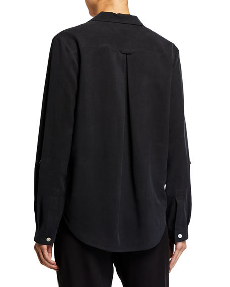 Image 2 of 4: Go Silk Plus Size Go Anywhere Fuji Silk Top