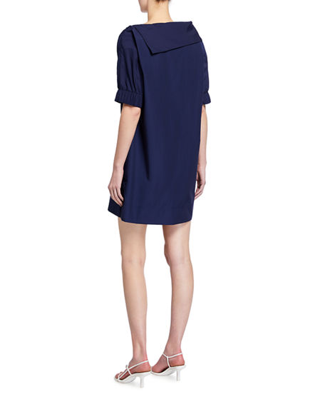 Image 2 of 2: Finley Skipper Elbow-Sleeve Shift Dress
