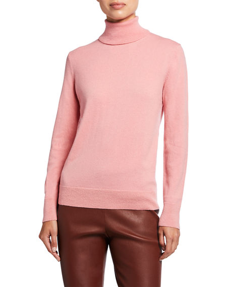 Image 1 of 2: Lafayette 148 New York Cashmere Turtleneck Sweater