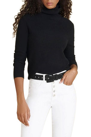Veronica Beard Kressy Cashmere Turtleneck Sweater
