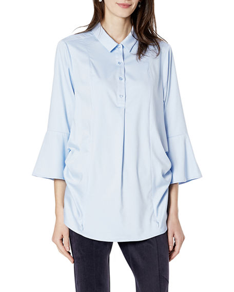 Emilia George Maternity Olivia 3/4-Sleeve Shirt