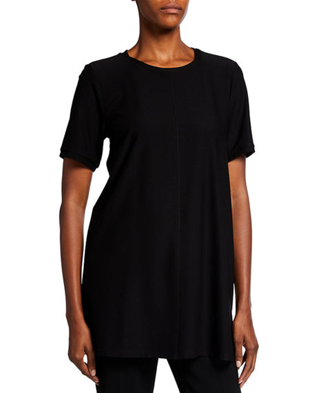 Eileen Fisher Embroidered Tee